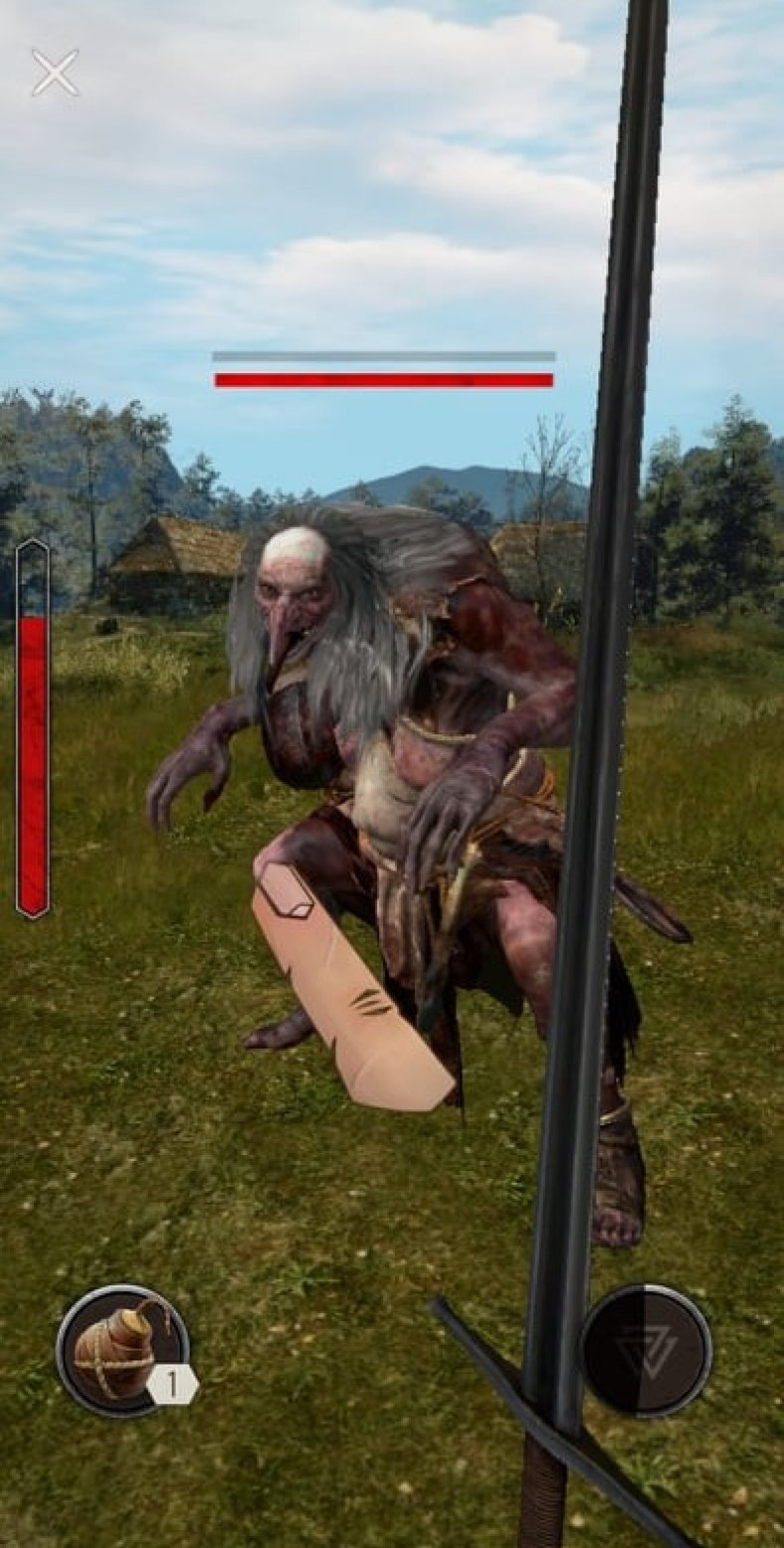 The Witcher: Monster Slayer Combat
