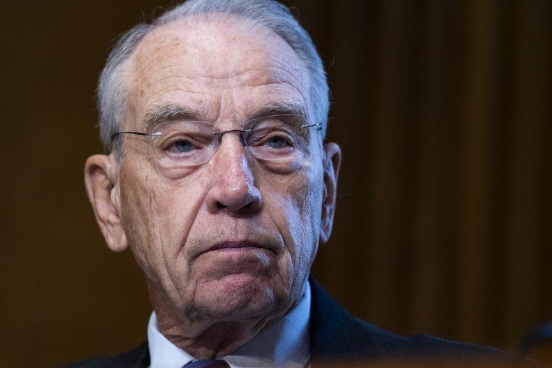 Chuck Grassley's Senate Seat Challenged