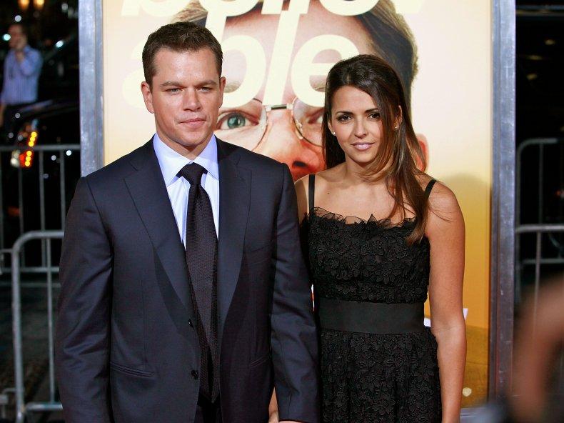 """The Informant!"" star Matt Damon and"