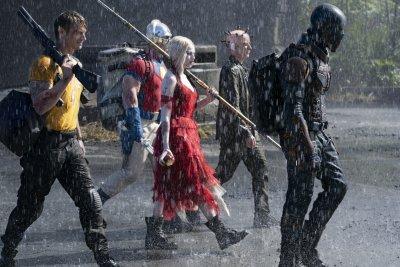 The Suicide Squad rain