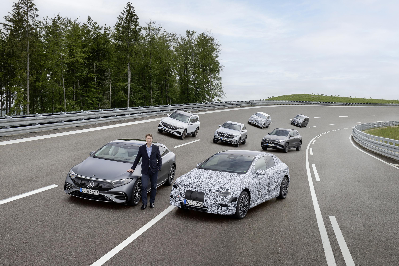 Mercedes-Benz EQ lineup track EQXX