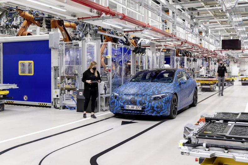 Mercedes-Benz Untertürkheim/Hedelfingen battery factory
