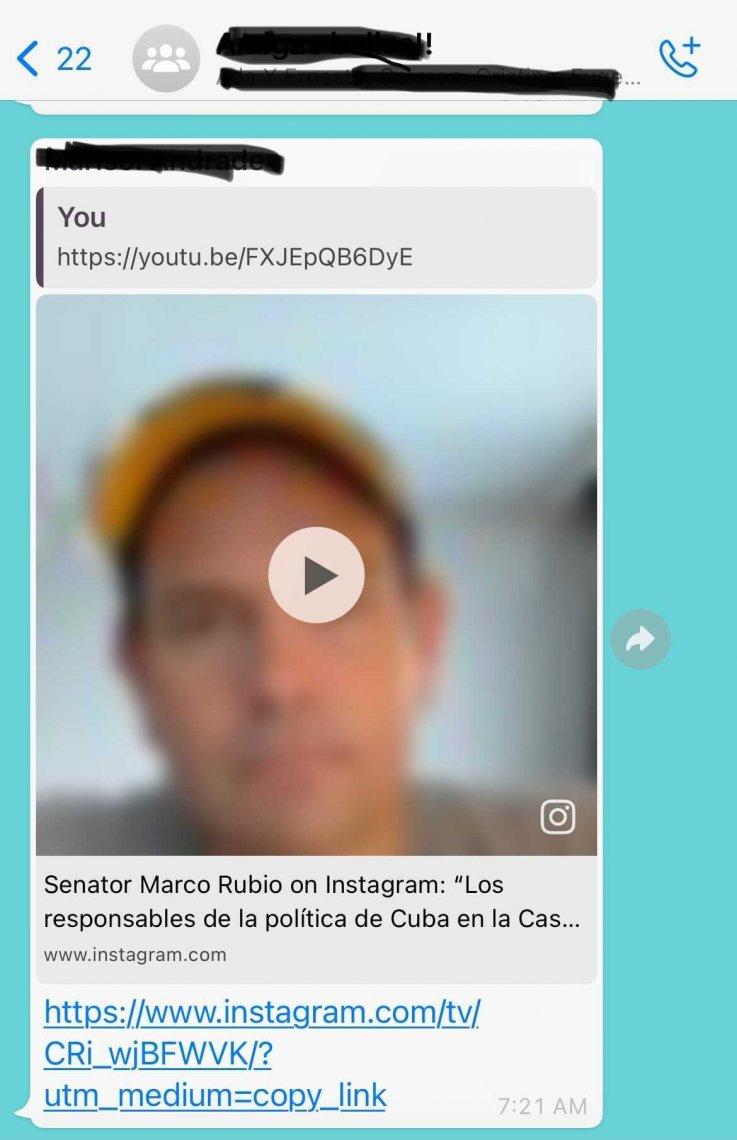 rubio whatsapp
