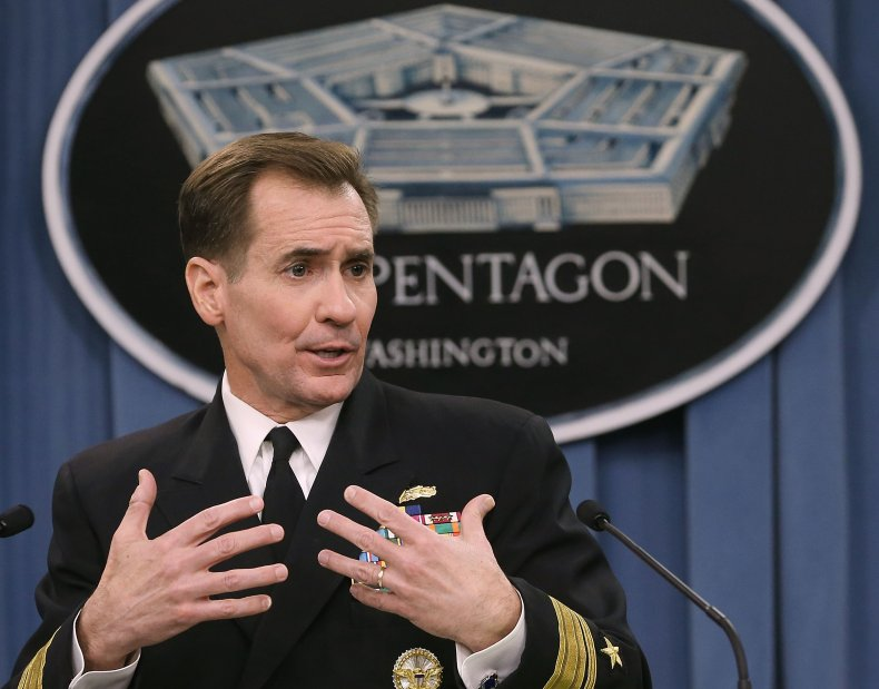 Pentagon Press Secretary John Kirby