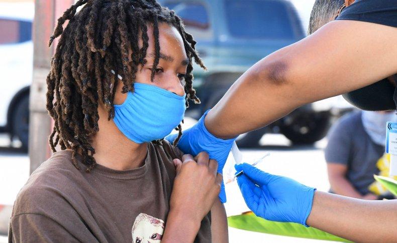 COVID vaccine California