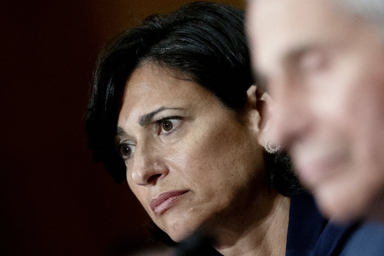 CDC Director listens at hearing