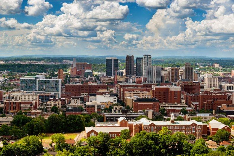 Birmingham, Alabama -- nearby suburb racial slur