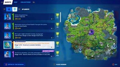 The Fortnite Season 7 Map