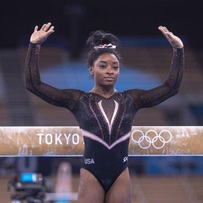 Simone Biles at the Olympics