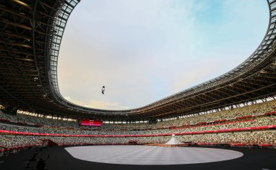 Japans new national Olympic stadium in Tokyo