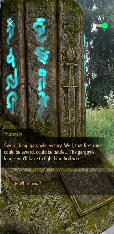 Thorstein Trasnlates the Runes