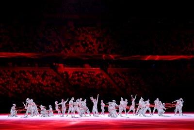 Tokyo 2020 opening ceremony dancers