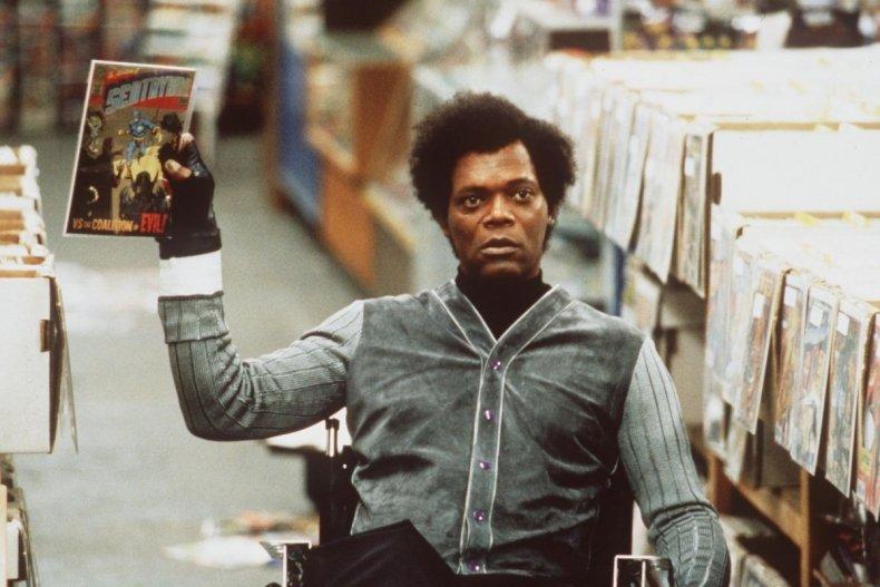 Samuel L Jackson as Glass