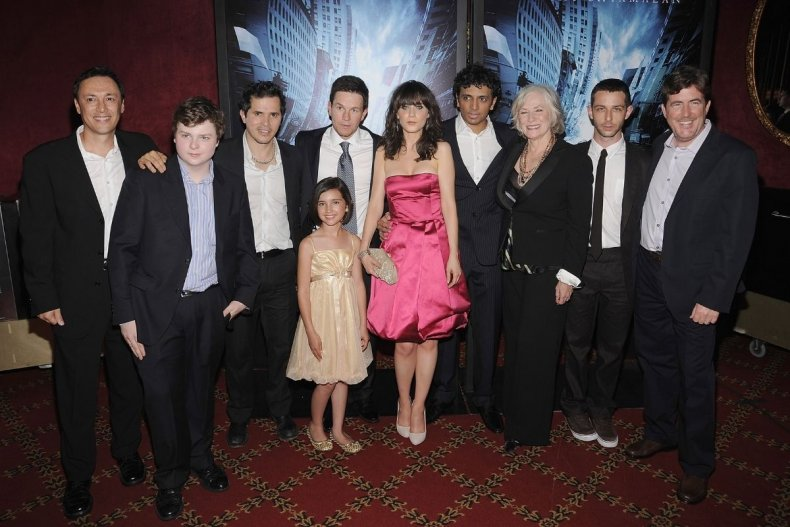 M Night Shyamalan and The Happening cast