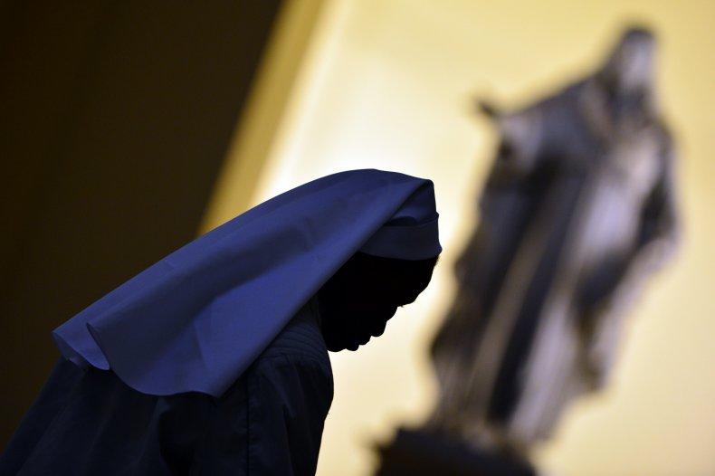 A nun at the Vatican