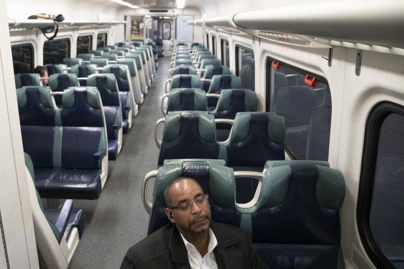 Nearly Empty Train Car
