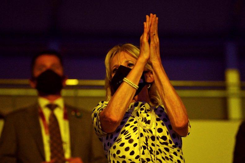 jill biden at olympics