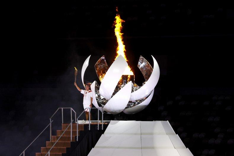 Naomi Osaka Torch