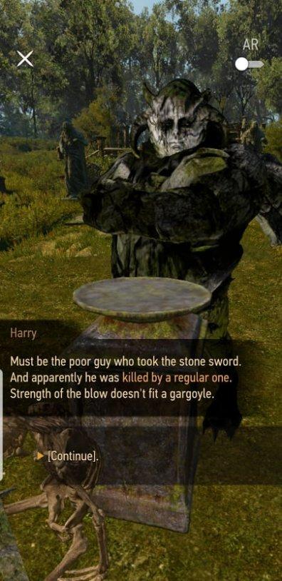 The Sword Offering for the Gargoyle King