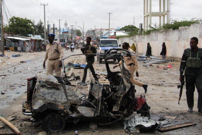 Terror Attack in Somalia