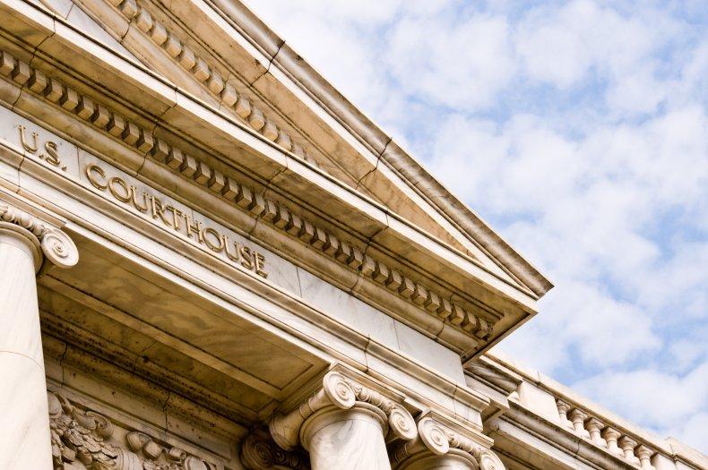 Close up shot of Georgia District Court