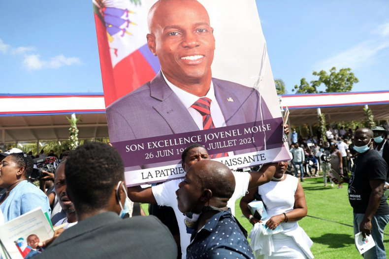 Moise funeral