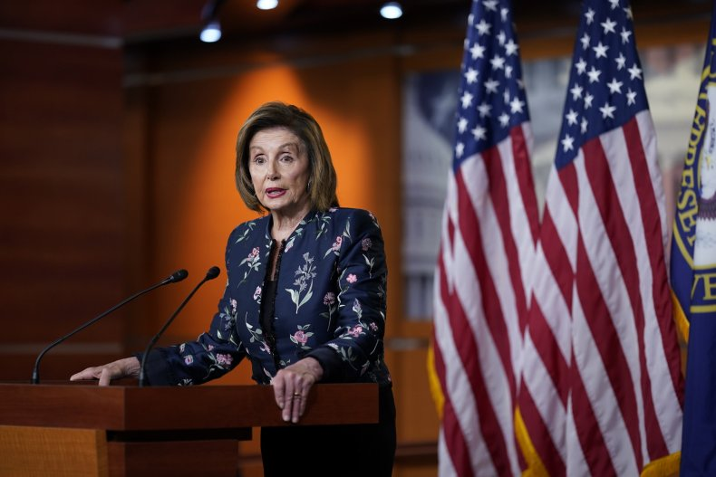 Nancy Pelosi supports Liz Cheney