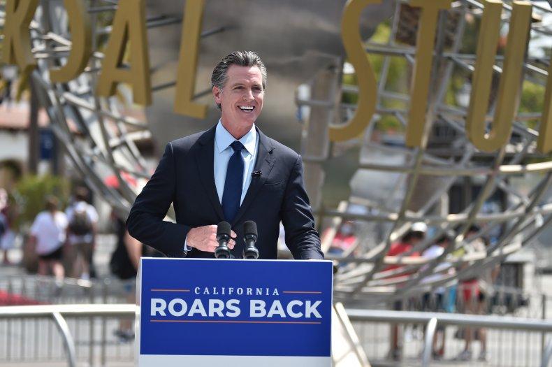 Gavin Newsom California recall debate