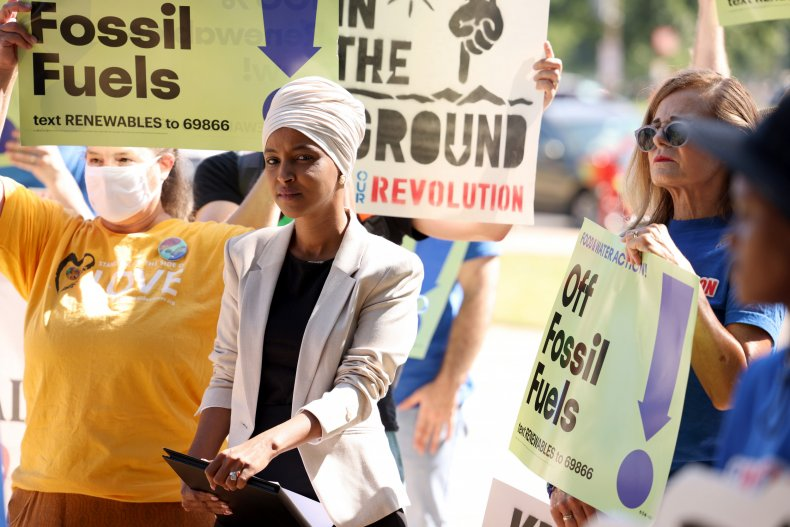 Ilhan Omar questions Biden strike on Somolia