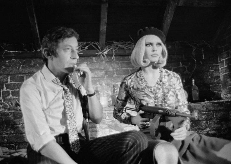 Brigitte Bardot and Serge Gainsbourg: 'Bonnie et Clyde' (1968)
