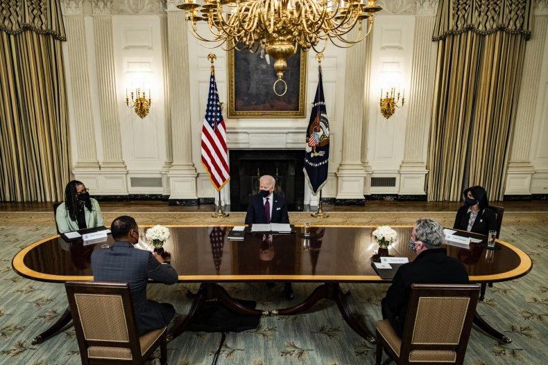 Biden stimulus checks inflation petition coronavirus pandemic