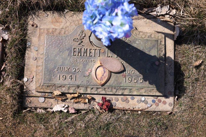Emmitt Till 80th birthday, gravestone