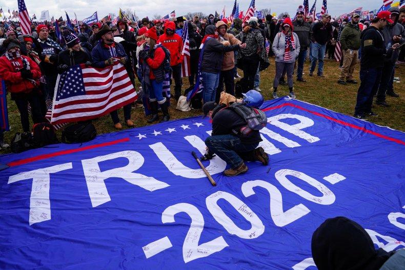Anti Biden signs New Jersey