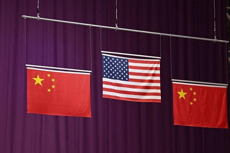 Sino-U.S. Olympic Flag