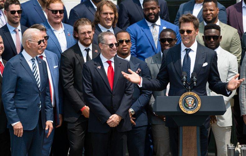 Tom Brady at White House