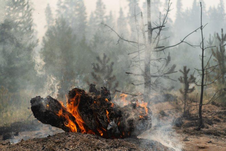 Wildfires in Oregon Washington and California