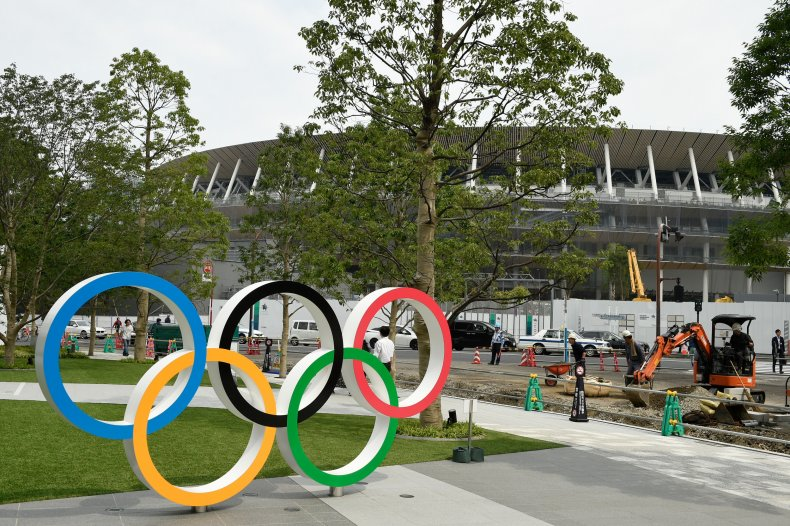 General view of Tokyo Olympic venues