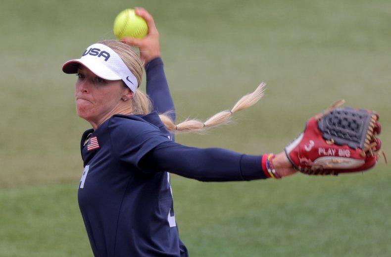 USA and Japan softball Tokyo 2020