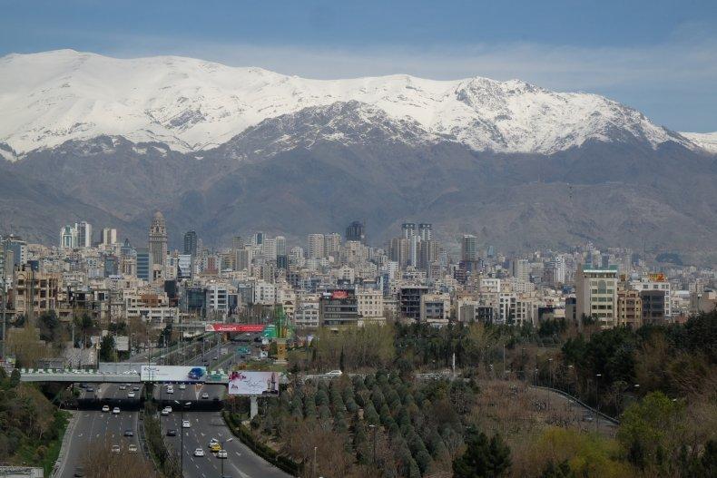 Tehran, Iran skyline pictured in March 2015