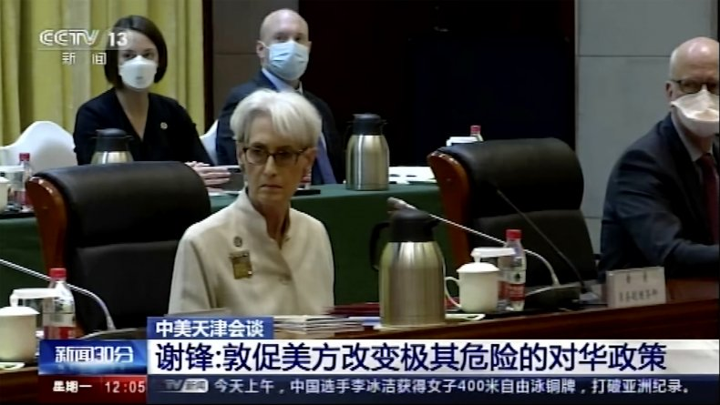 Wendy Sherman meets with China