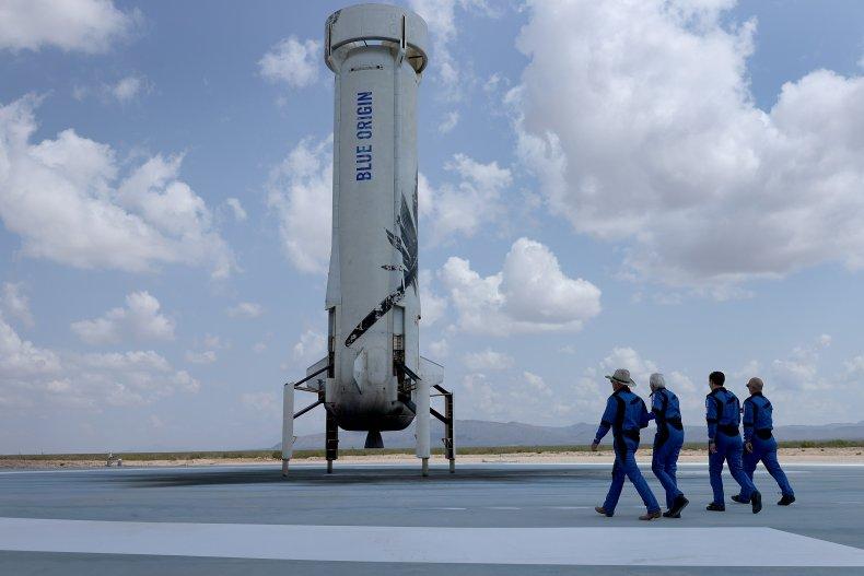 Jeff Bezos Blue Origin Flight
