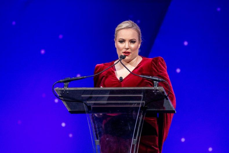 Meghan McCain at Achille Gala