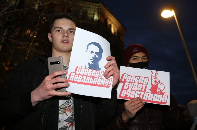 Navalny protests