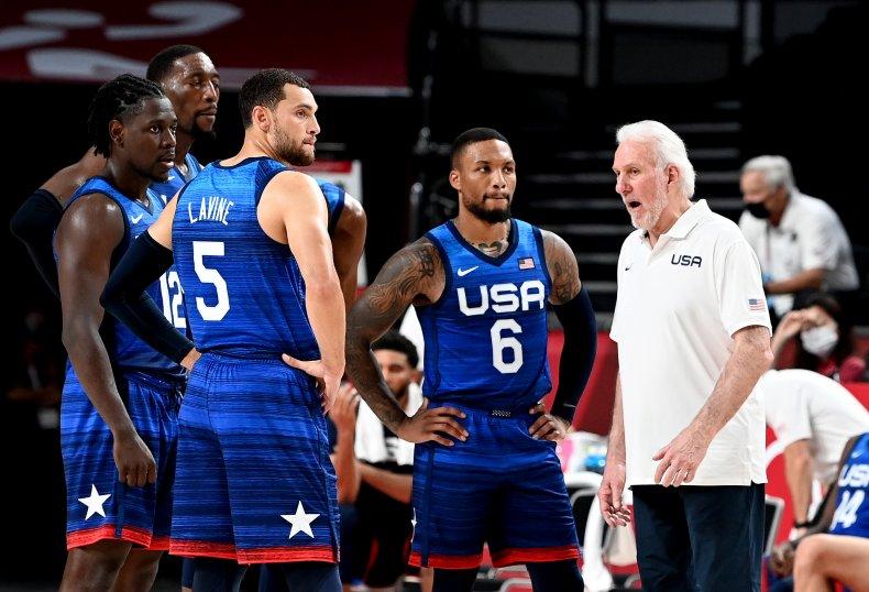 2020 Olympics USA Mens Basketball