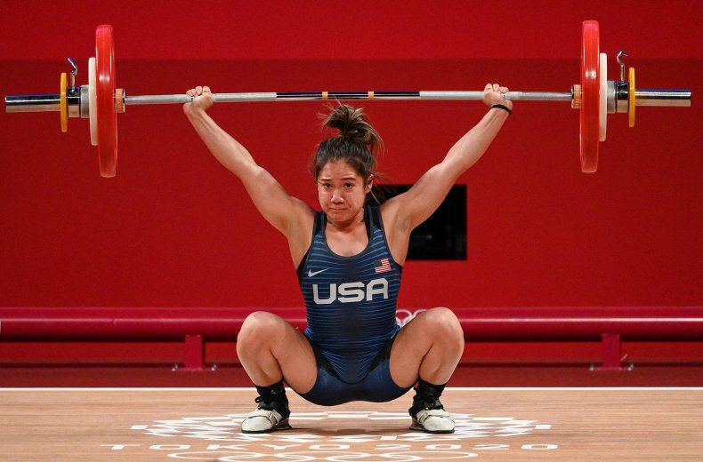 Team USA's Jourdan Elizabeth Delacruz.