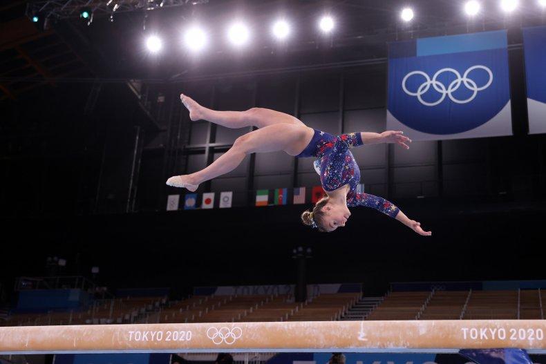 Olympic gymnast Grace McCallum