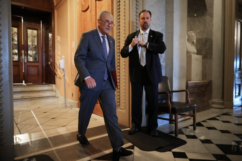 Chuck Schumer pushing for infrastructure negotiations