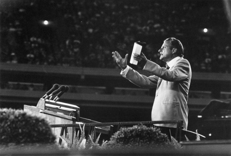 Jonathan Lotz Billy Graham COVID-19 Cancer Evangelicals