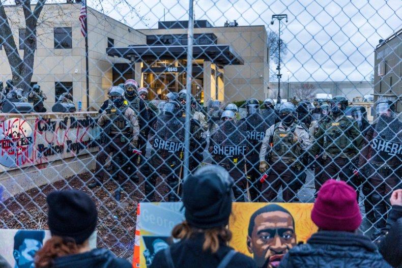 Brooklyn, Minnesota, protests, Wright, Floyd