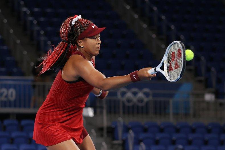 Naomi Osaka loses
